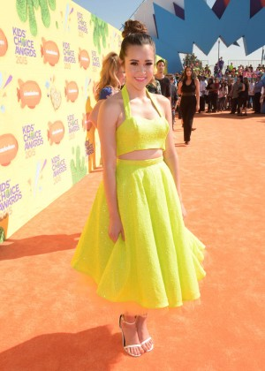 Megan Nicole: 2015 Nickelodeon Kids Choice Awards -01