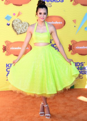 Megan Nicole: 2015 Nickelodeon Kids Choice Awards -05