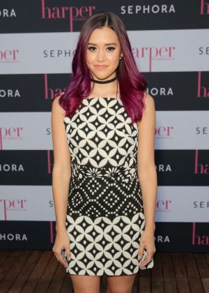 Megan Nicole - harper x Harper's BAZAAR September Issue Event in LA