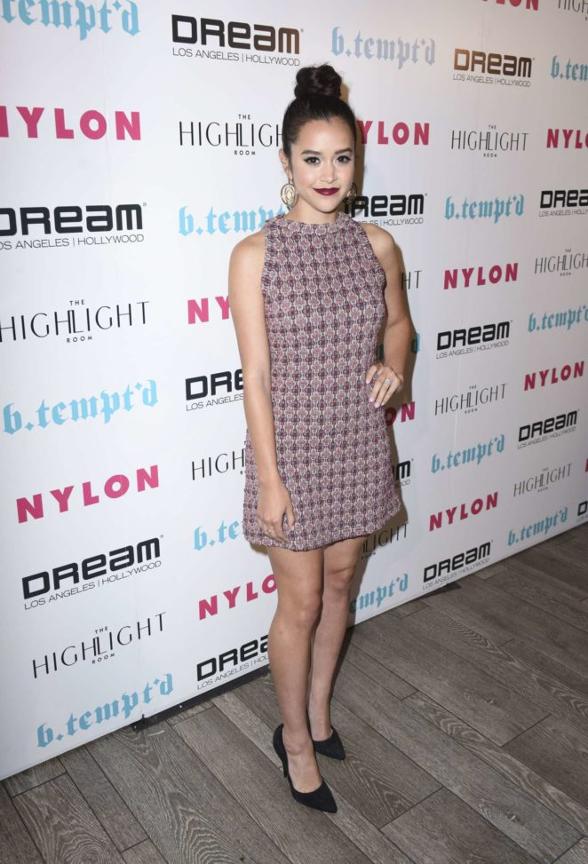 Megan Nicole – NYLON's It Girl Party at The Highlight Room in Hollywood