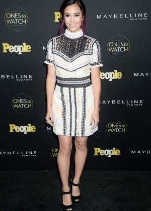 Megan Nicole - People's 'Ones to Watch' Event in Hollywood