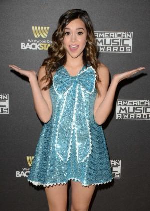Megan Nicole - American Music Awards Radio Row Day 1 in LA