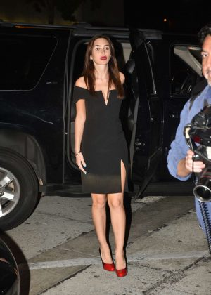 Megan Pormer - Leaving Craig's in Los Angeles