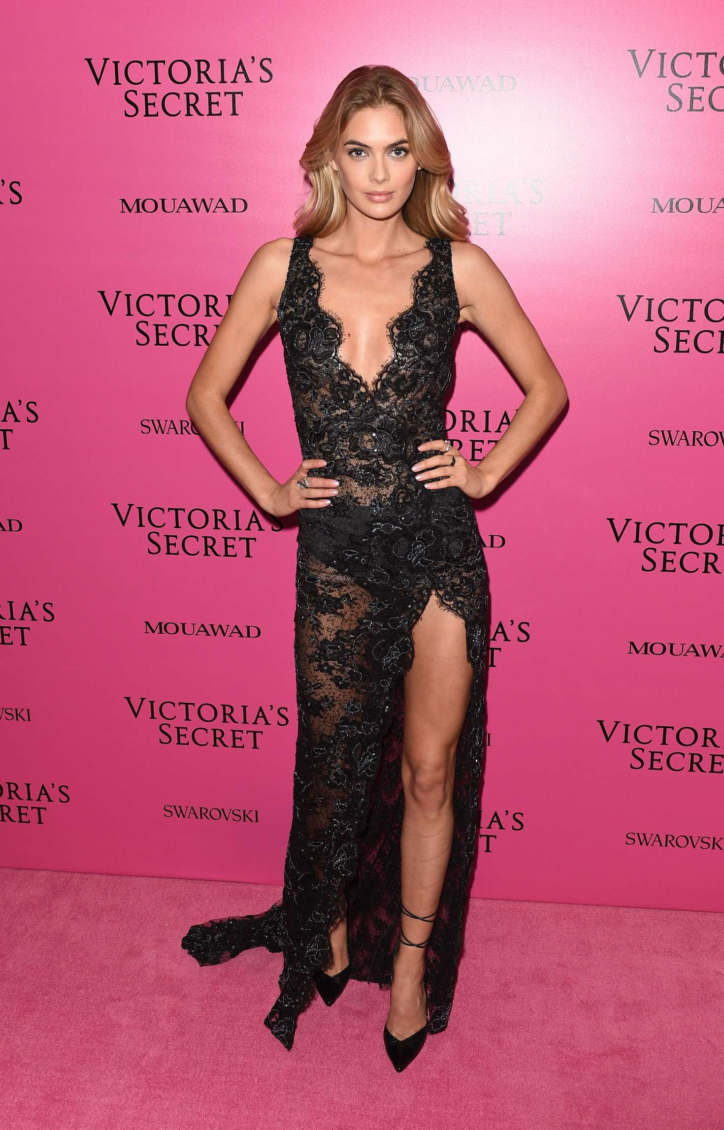 Megan Williams Victoria S Secret Fashion Show  After Party