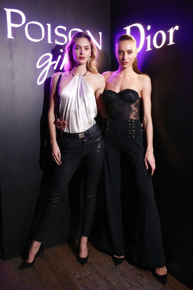 Megan Williams - Dior Celebrates 'Poison Girl' in New York