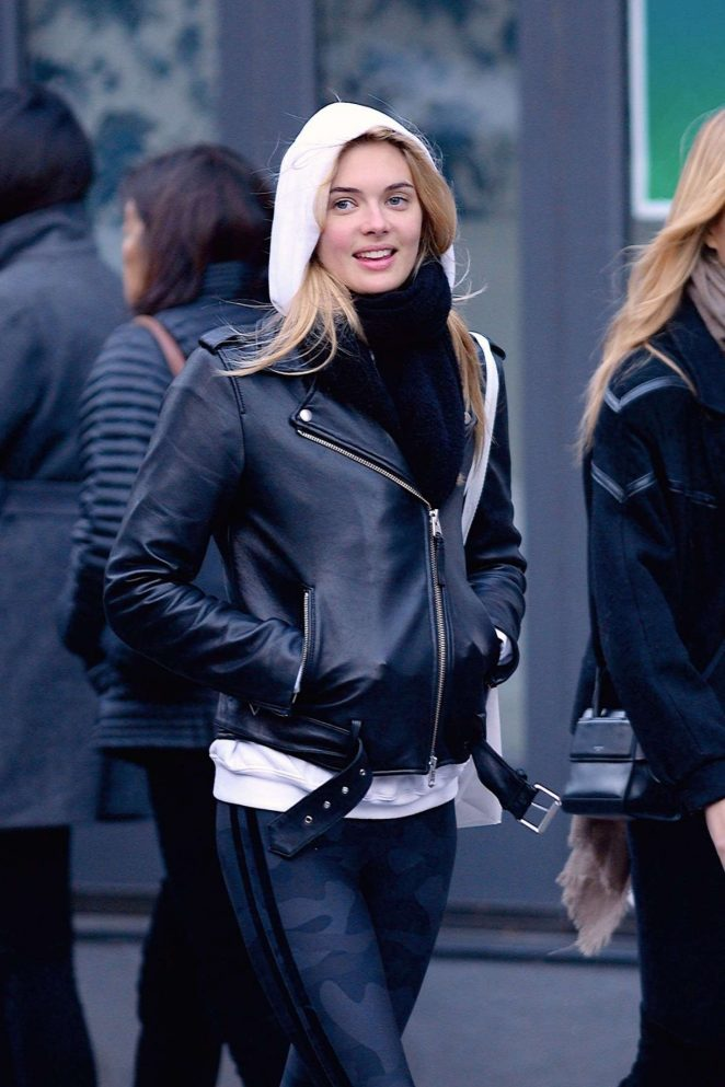 Megan Williams – Out and about in NYC