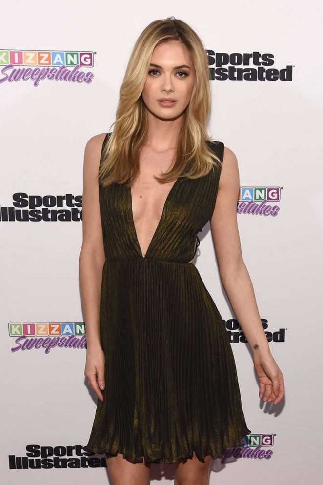 Megan Williams - Sports Illustrated and KIZZANG Bracket Challenge Party in NYC