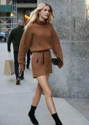 Megan Williams - Victoria's Secret Fashion Show Fittings in NY