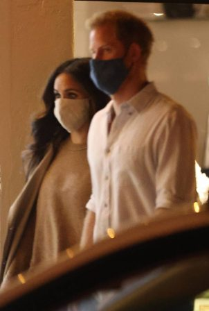 Meghan Markle and Prince Harry - Out in Santa Barbara
