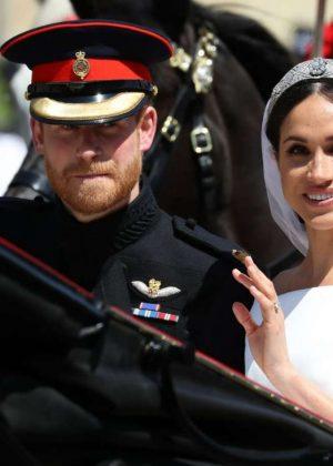Meghan Markle and Prince Harry - Royal Wedding at Windsor Castle