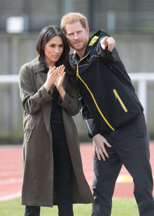 Meghan Markle and Prince Harry - UK Team trials for the Invictus Games Sydney 2018 in Bath