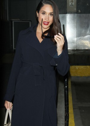 Meghan Markle at AOL BUILD to talk about USA series Suits in New York