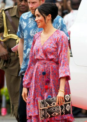 Meghan Markle - At University of the South Pacific campus in Suva - Fiji