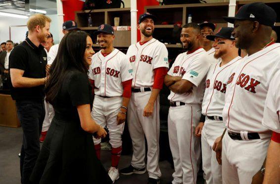 Meghan Markle- Attending the Boston Red Sox v New York Yankees Match-05