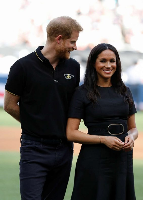Meghan Markle - Attending the Boston Red Sox v New York Yankees Match in London