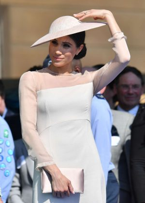 Meghan Markle - Garden party at Buckingham Palace in London