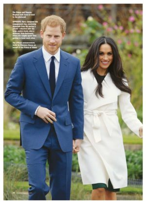 Meghan Markle - Majesty Magazine (January 2018)