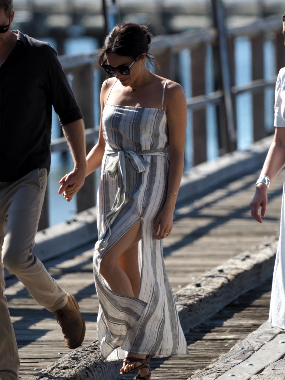 Meghan Markle – Seen at Kingfisher Bay On Fraser Island In Australia