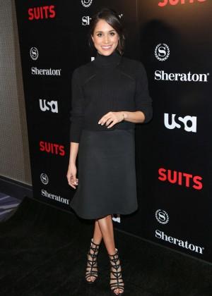 Meghan Markle - 'Suits' Season 5 Premiere in Los Angeles
