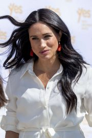 Meghan Markle - Visiting a township to learn about Youth Employment Services in Johannesburg