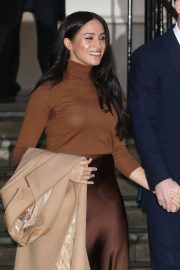 Meghan Markle - Visiting Canada House in London