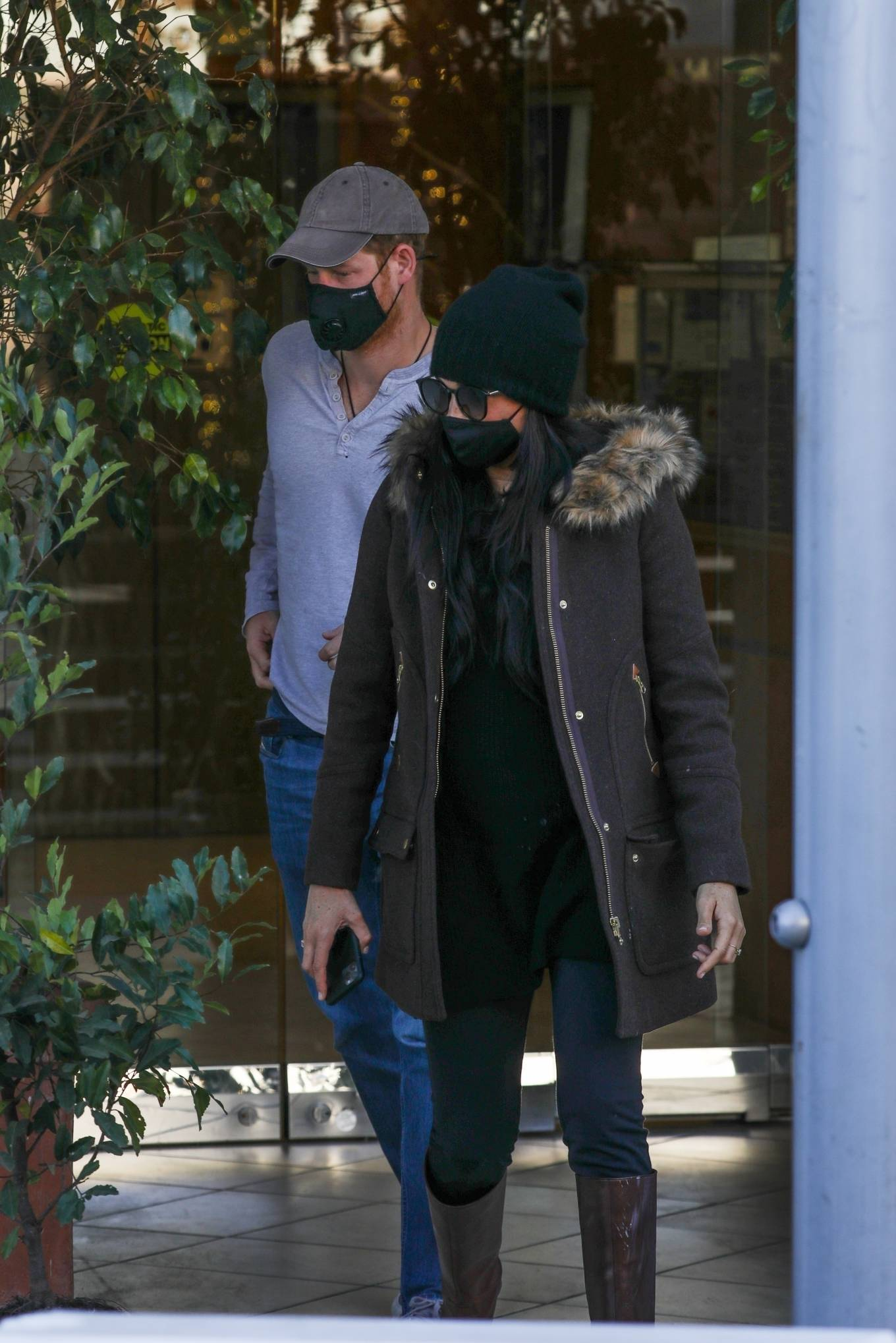 Meghan Markle - With Prince Harry spotted together in Beverly Hills