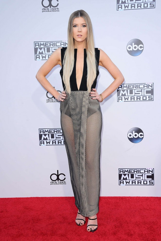 Meghan Rienks - 2015 American Music Awards in Los Angeles