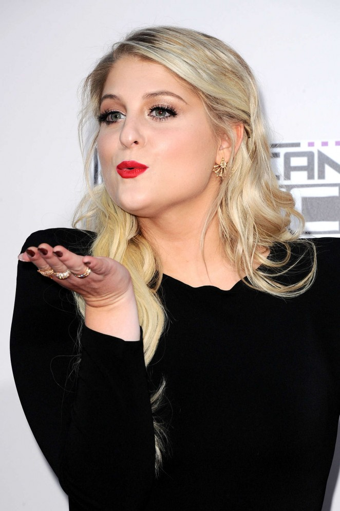 Meghan Trainor - 2015 American Music Awards in Los Angeles