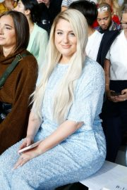 Meghan Trainor - front row for Sally LaPointe during NYFW 2019