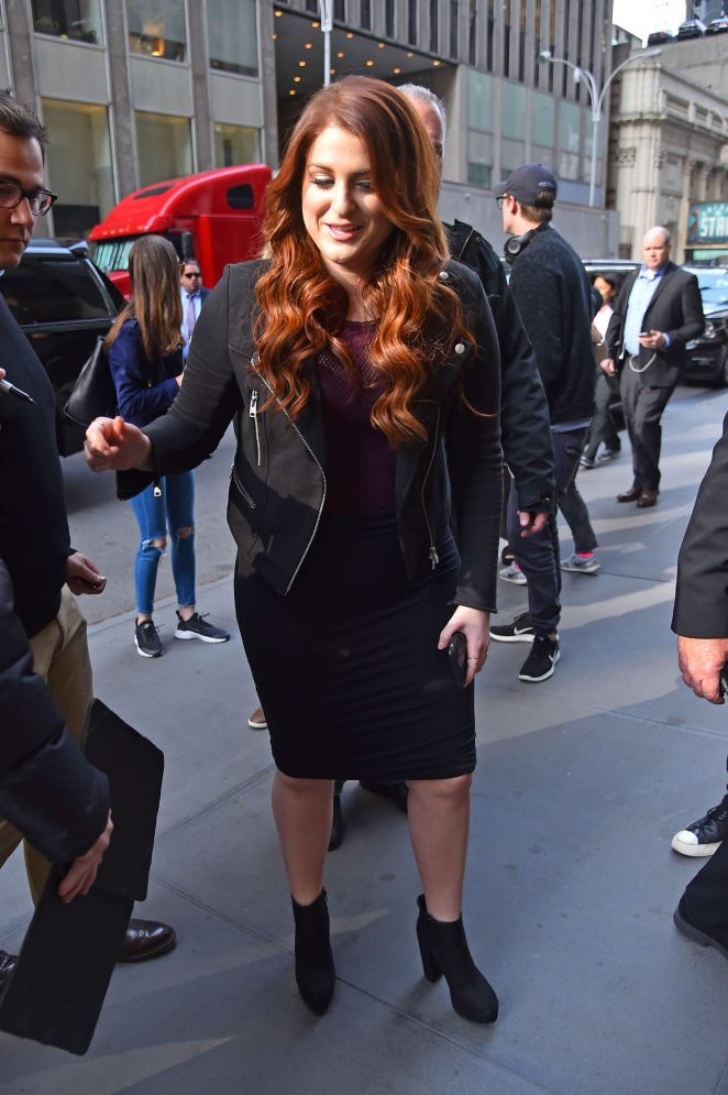 Meghan Trainor in Tight Dress out in Manhattan