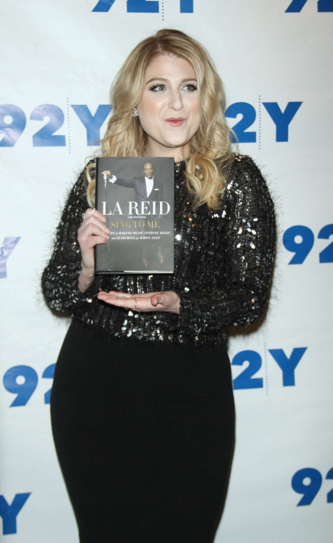 Meghan Trainor - LA Reid at 92Y in New York