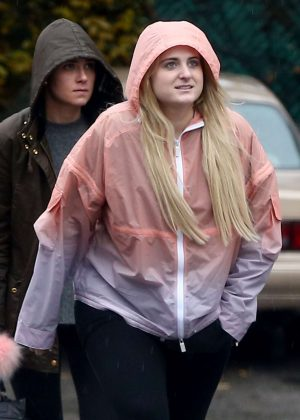 Meghan Trainor - Out in Los Angeles