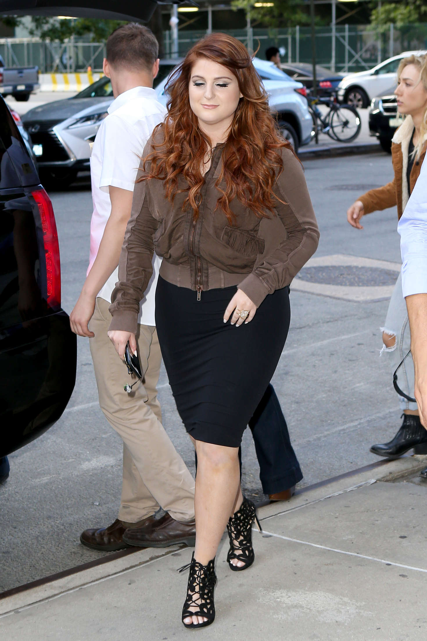 Meghan Trainor Out In Ny Gotceleb