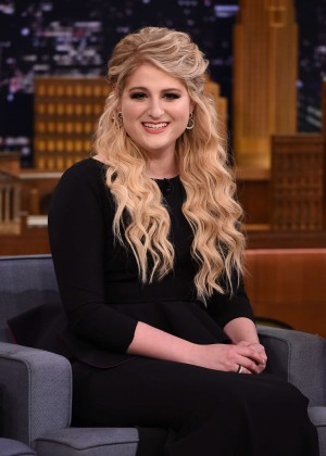 Meghan Trainor - The Tonight Show With Jimmy Fallon in NYC