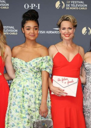Meghann Aisha Melora Katie - 2018 International Television Festival Opening Ceremony