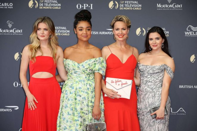 Meghann Aisha Melora Katie – 2018 International Television Festival Opening Ceremony in Monte Carlo