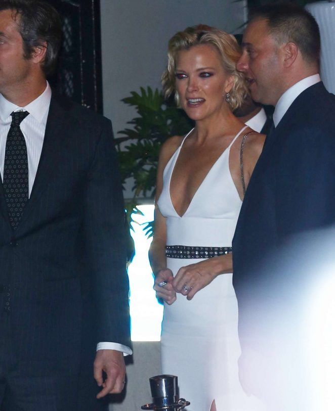 Megyn Kelly at Golden Globes Party in Los Angeles