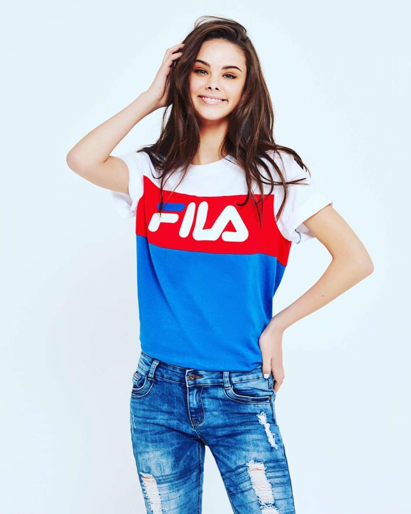 Meika Woollard - Fila Australia Campaign (November 2019)