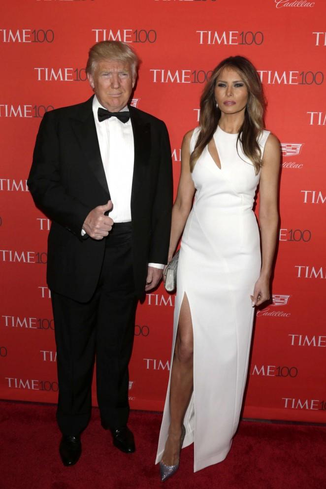 Melania Trump - 2016 Time 100 Gala in New York
