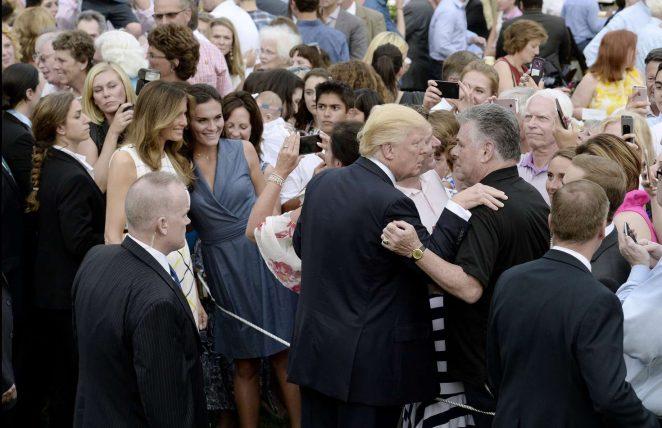 Melania Trump: White House Congressional Picnic -06