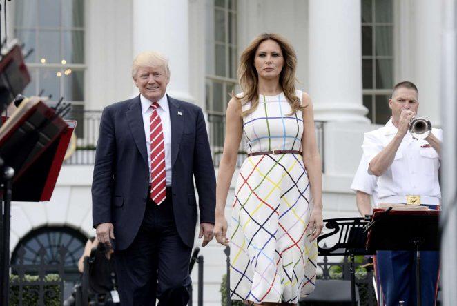 Melania Trump: White House Congressional Picnic -10