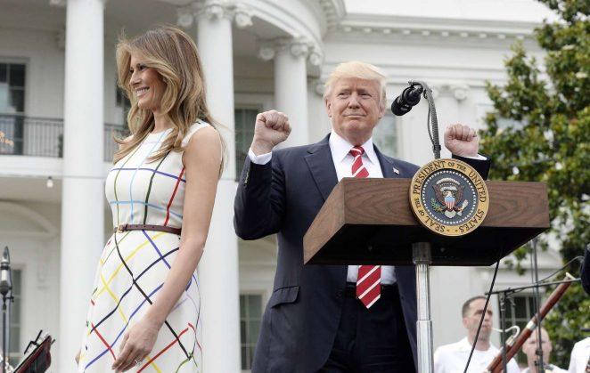 Melania Trump: White House Congressional Picnic -13