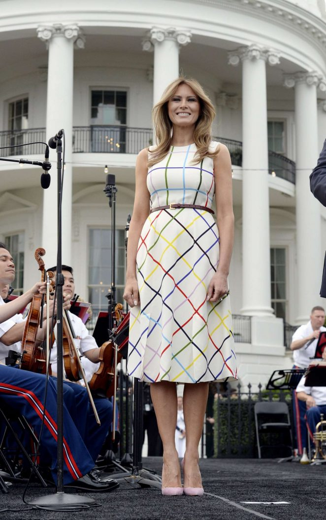 Melania Trump - White House Congressional Picnic in Washington