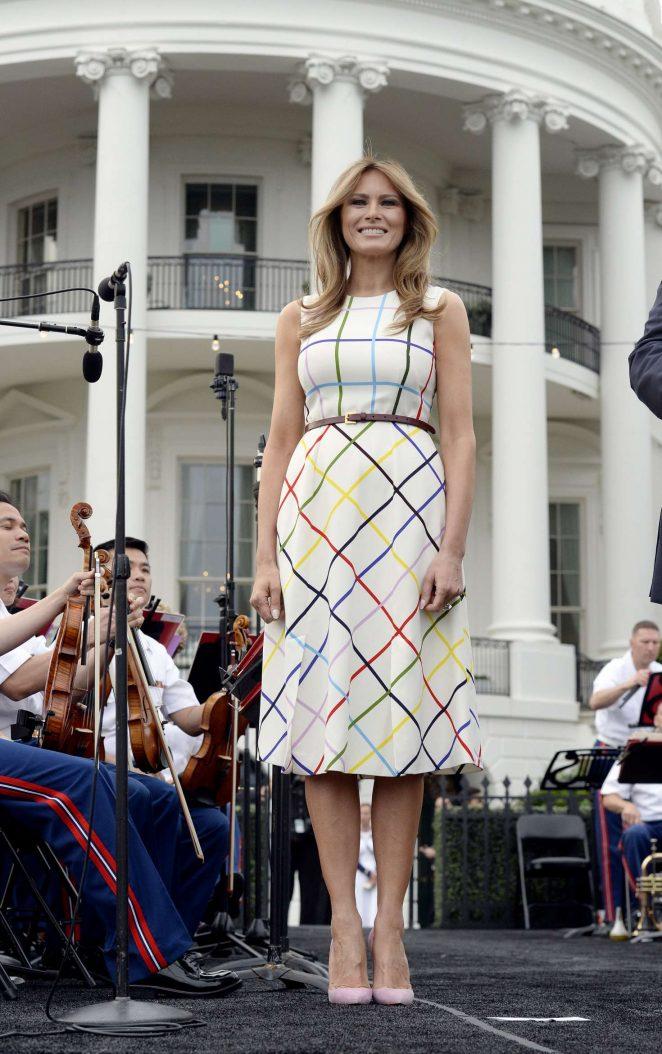 Melania Trump: White House Congressional Picnic -16