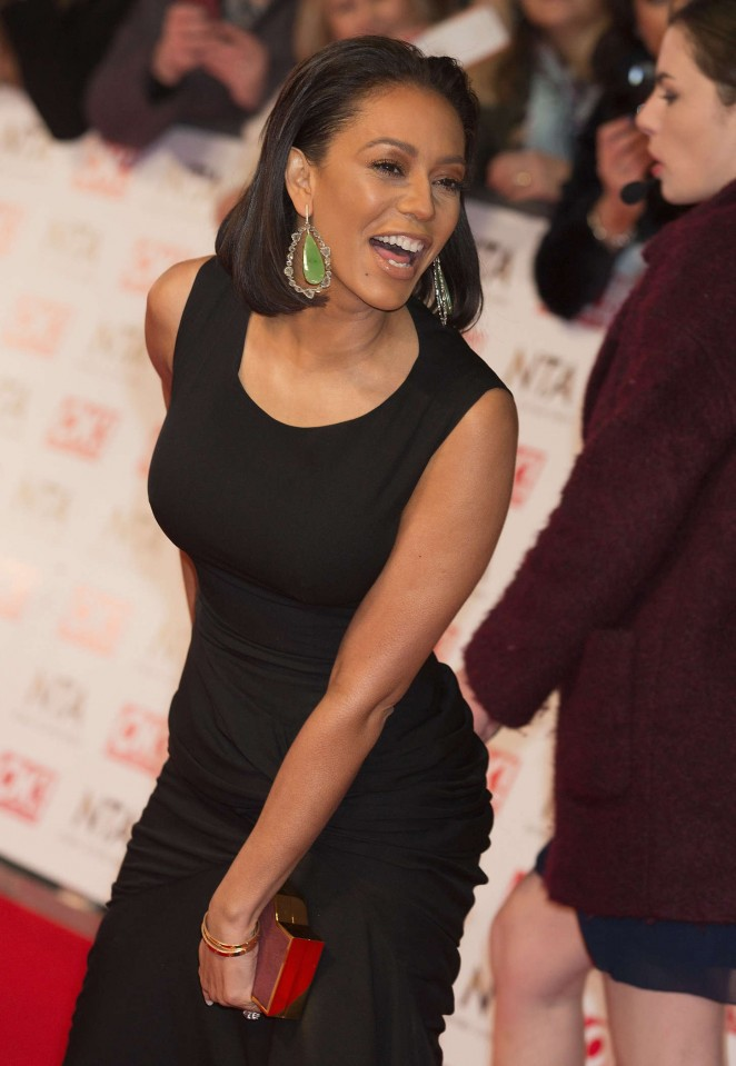 Melanie Brown - 2015 National Television Awards in London