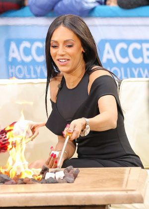 Melanie Brown - Access Hollywood Live in New York