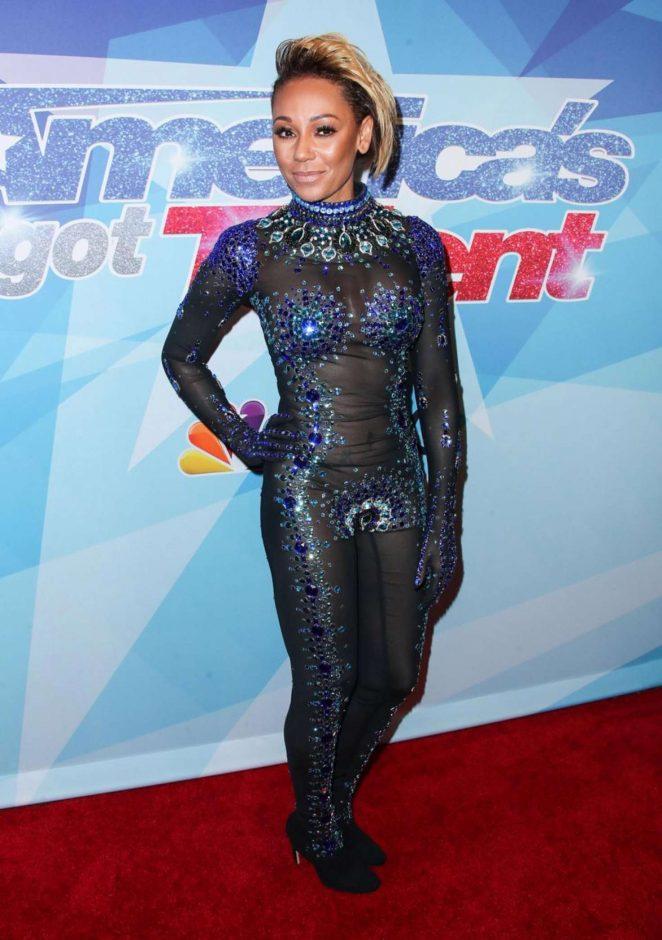 Melanie Brown - America's Got Talent Premiere