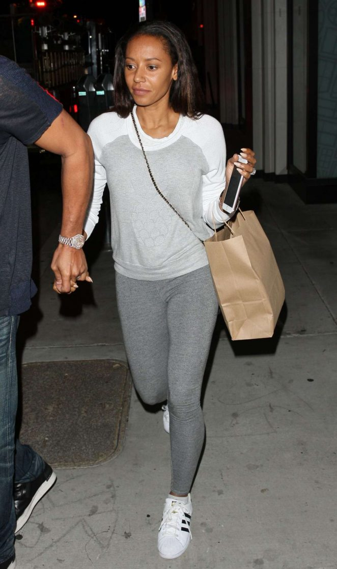 Melanie Brown at Catch LA Restaurant in West Hollywood