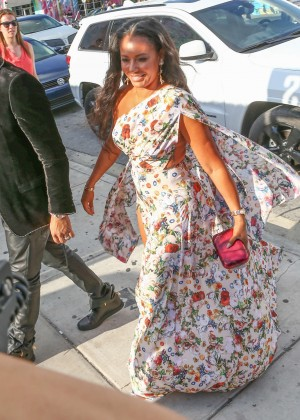 Melanie Brown at Isabela Rangel and David Grutman's Wedding in Miami