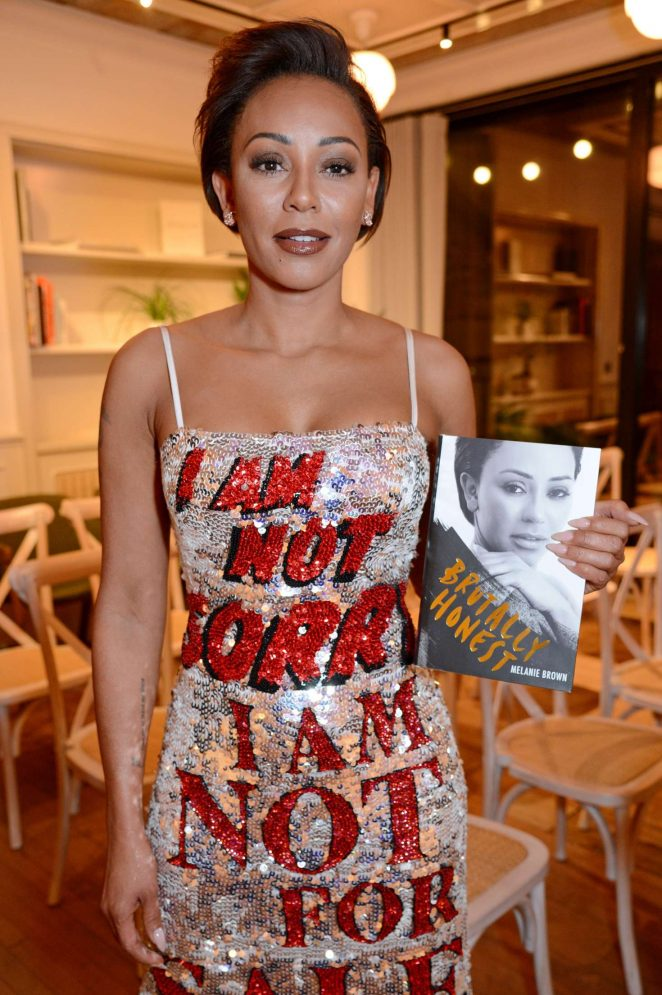 Melanie Brown - 'Brutally Honest' Book Launch in London
